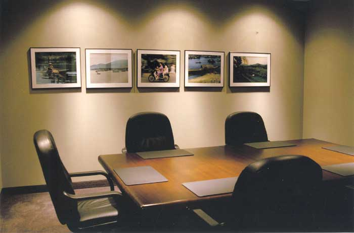 law office interior conference room